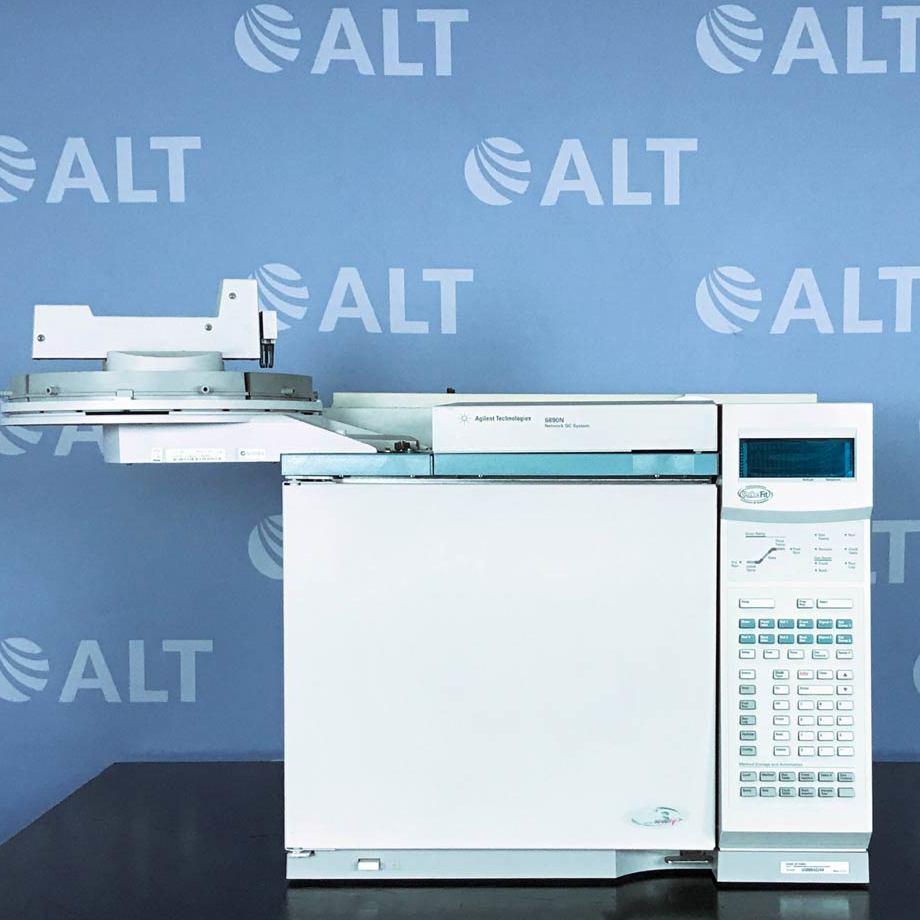 Agilent Technologies 6890N Gas Chromatograph System (Demo System) Image