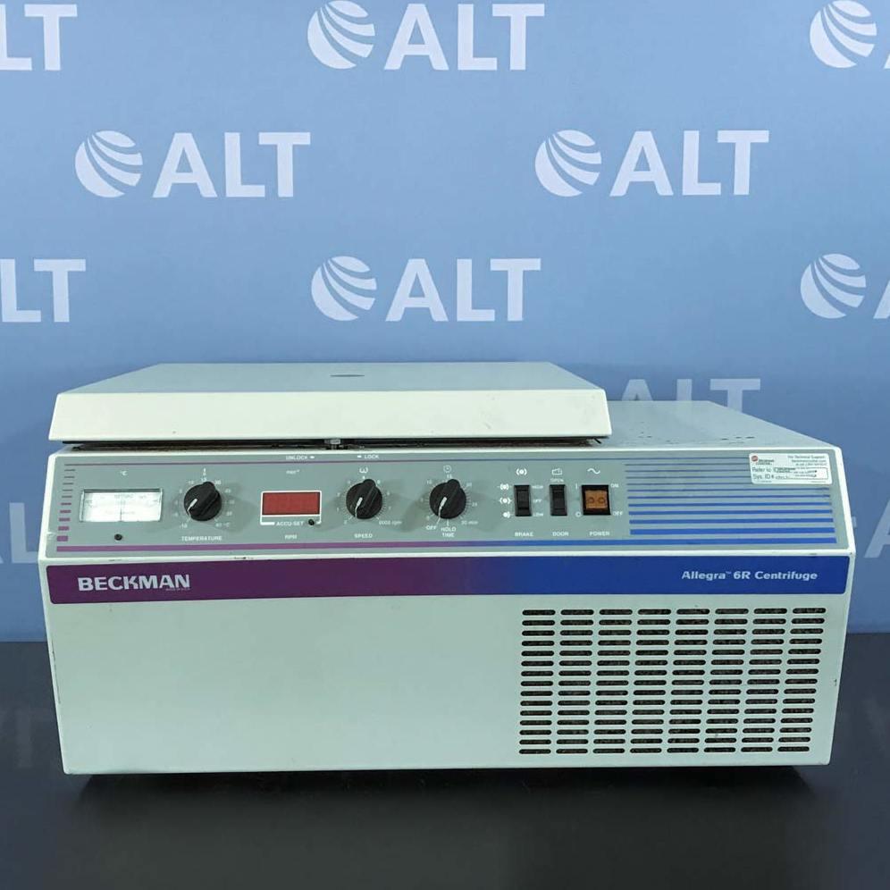 Allegra 6R Refrigerated Benchtop Centrifuge 120 V 60 Hz Name