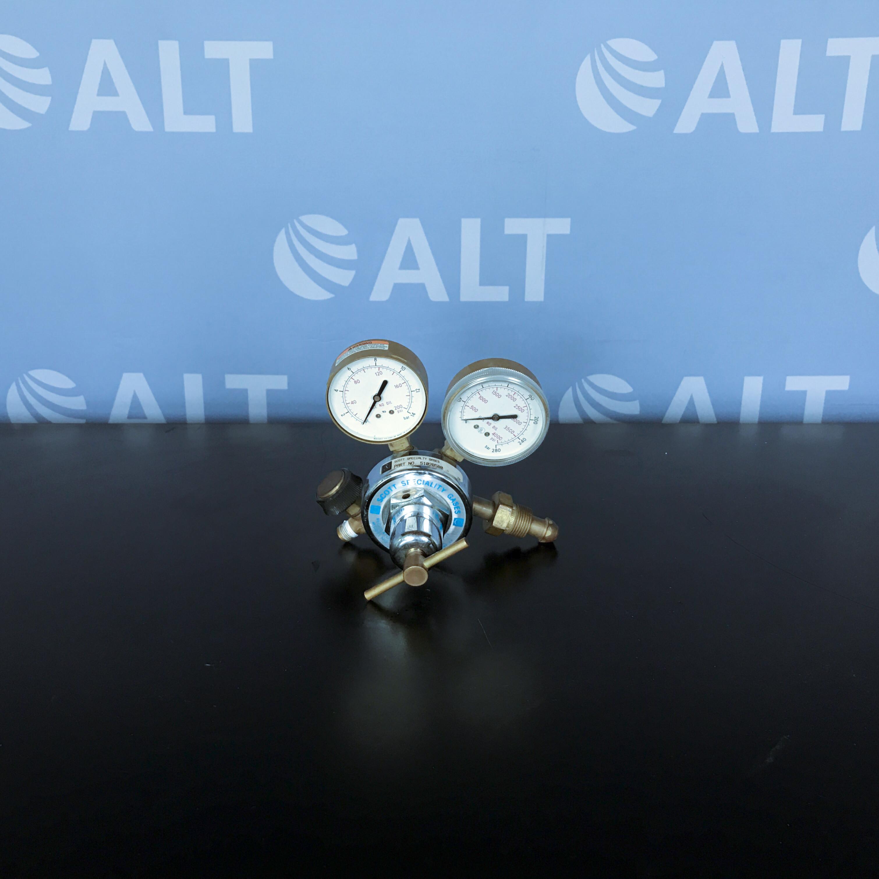 Scott Specialty Gases Model 2B Gas Regulator Image