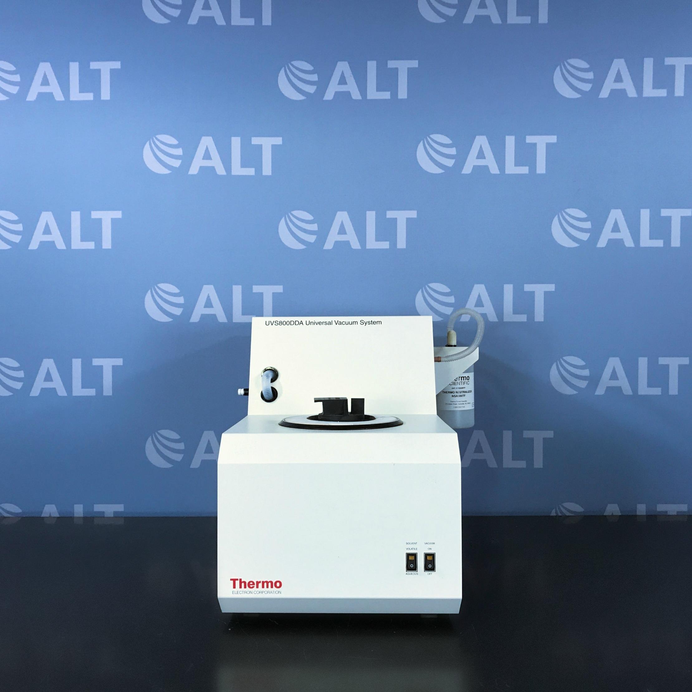Thermo / Savant UVS800DDA Universal Vacuum System Plus with VaporNet Image