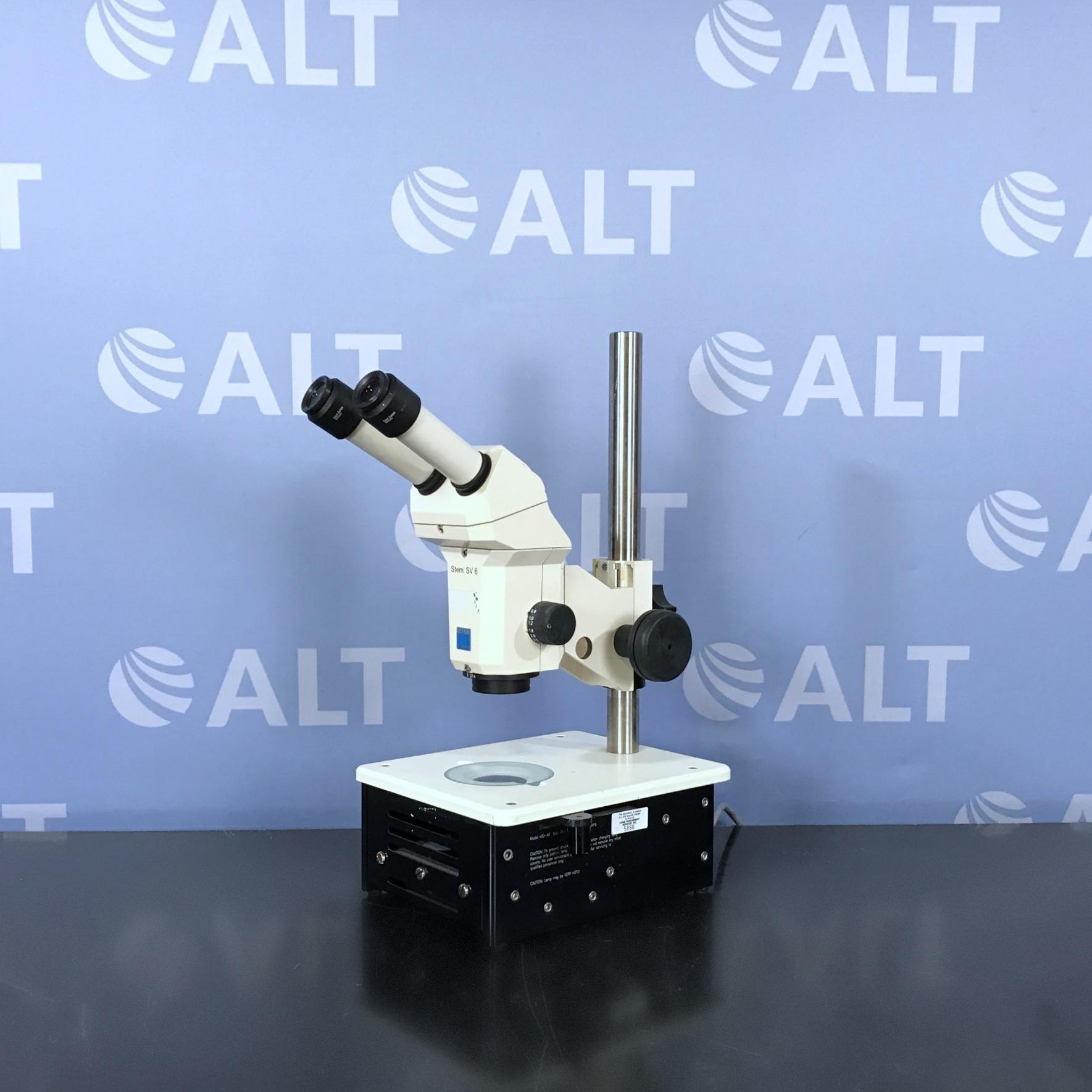 Carl Zeiss Stemi SV6 Stereomicroscope Image
