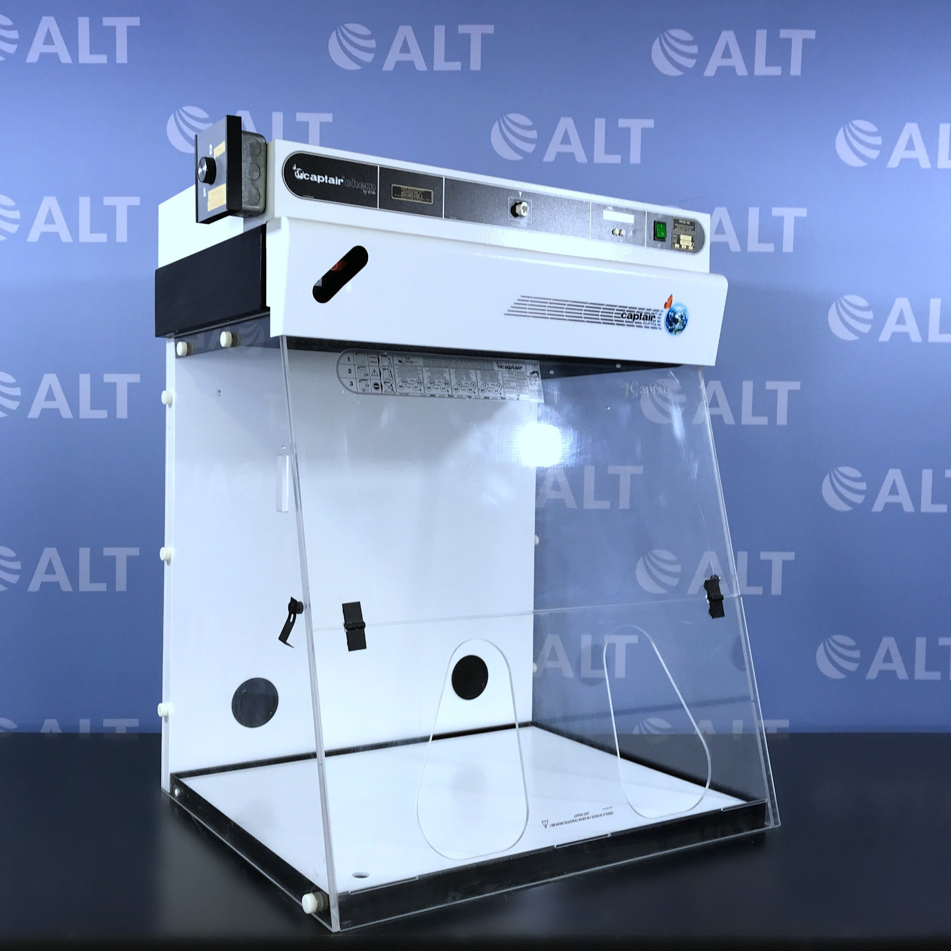 Erlab Captair  Chem Filtair 824 Bench Top Chemical Fume Cabinet Image