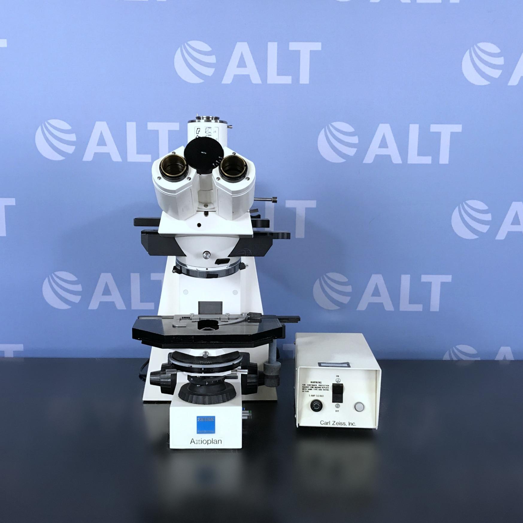 Axioplan Epifluorescent Microscope Name