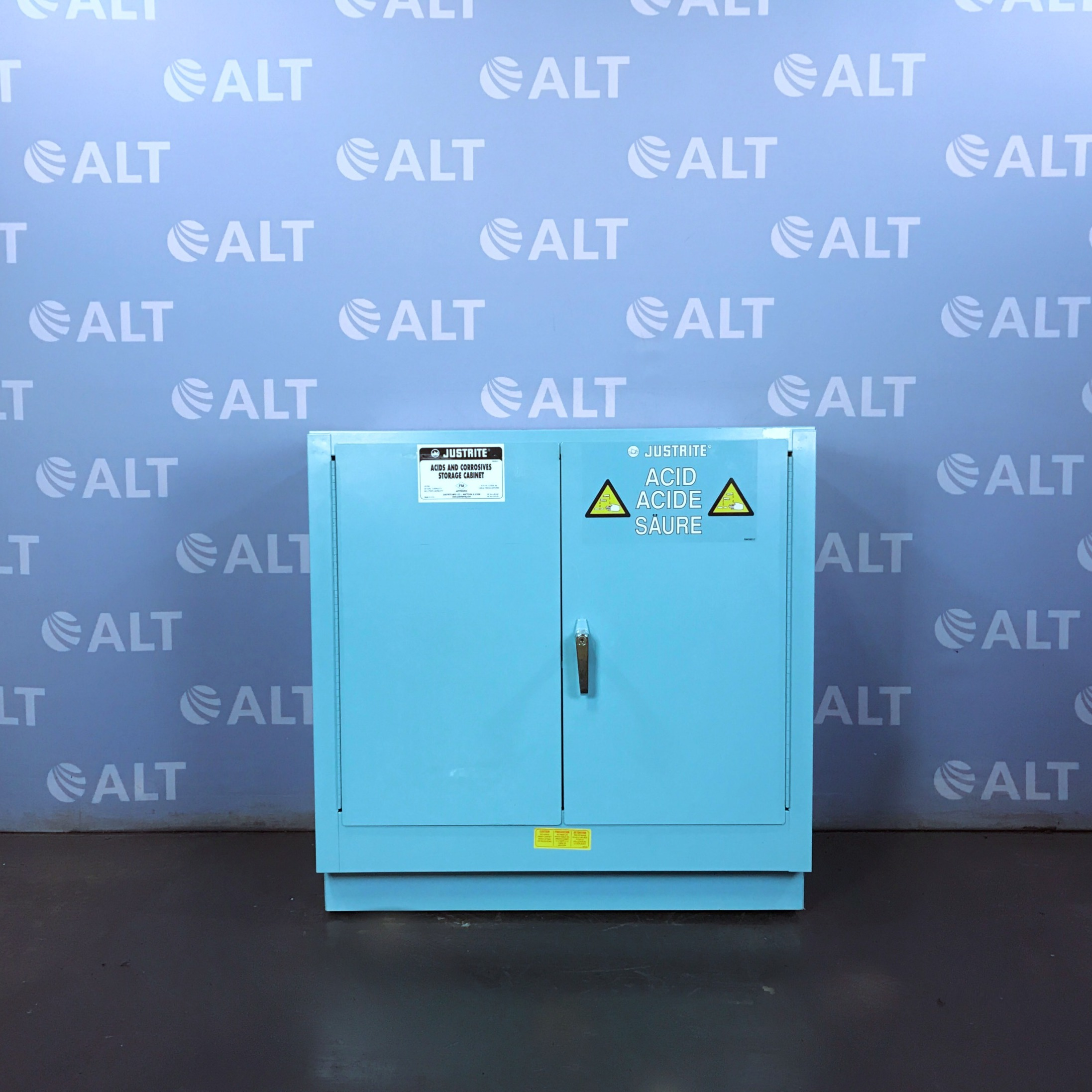 Model 25702 Acid Safety Storage Cabinet 22 Gal. Name
