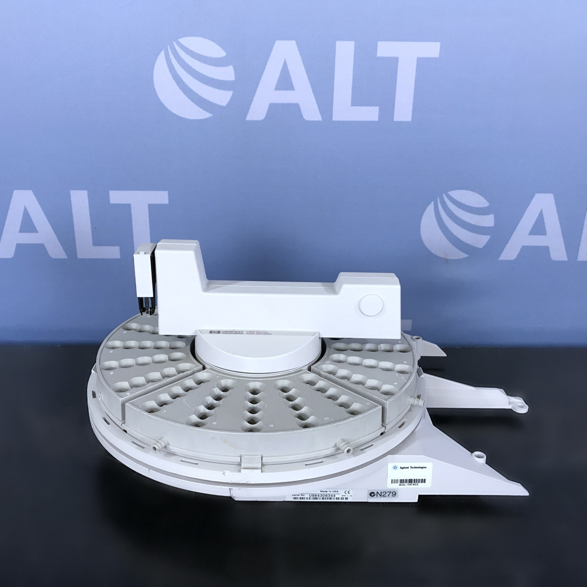 7683 Series ALS Automatic Liquid Sampler Tray (G2614A) Name