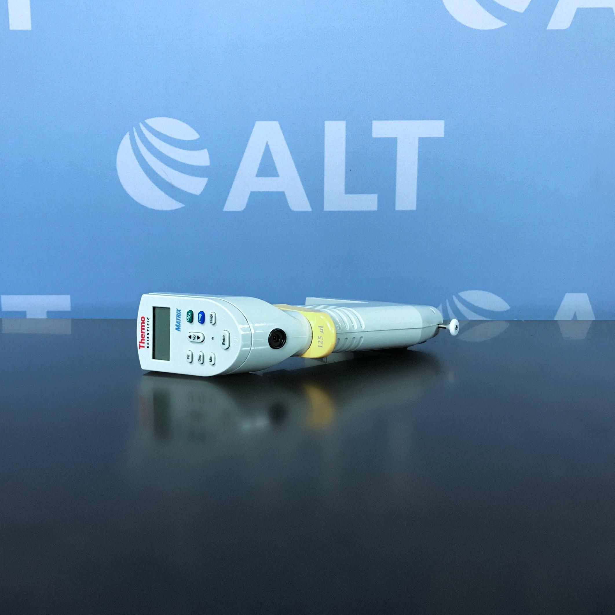 Thermo Scientific Matrix 125 uL 8-Channel Electronic Pipette Image