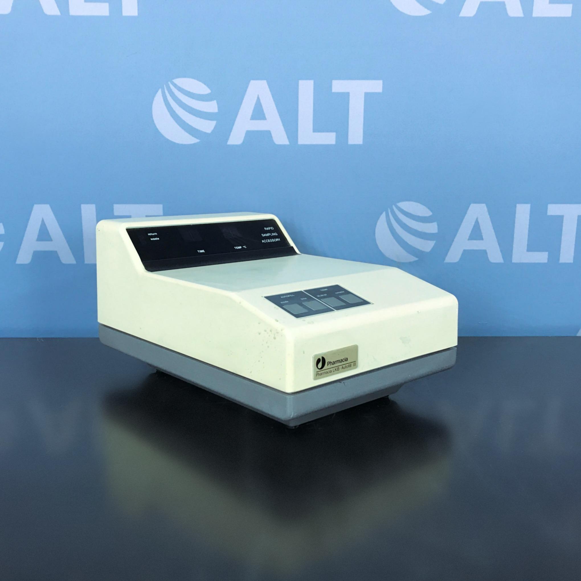 Pharmacia LKB Ultrospec III UV/Vis Spectrophotometer with  Autofill III Image