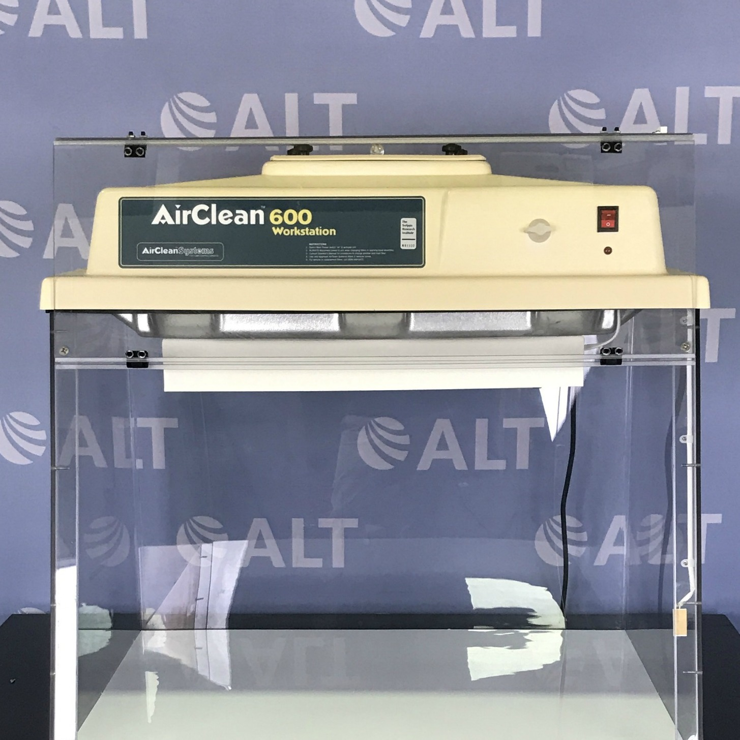 Air Clean Systems Air Clean 600 Workstation Model AC600LFUV Image