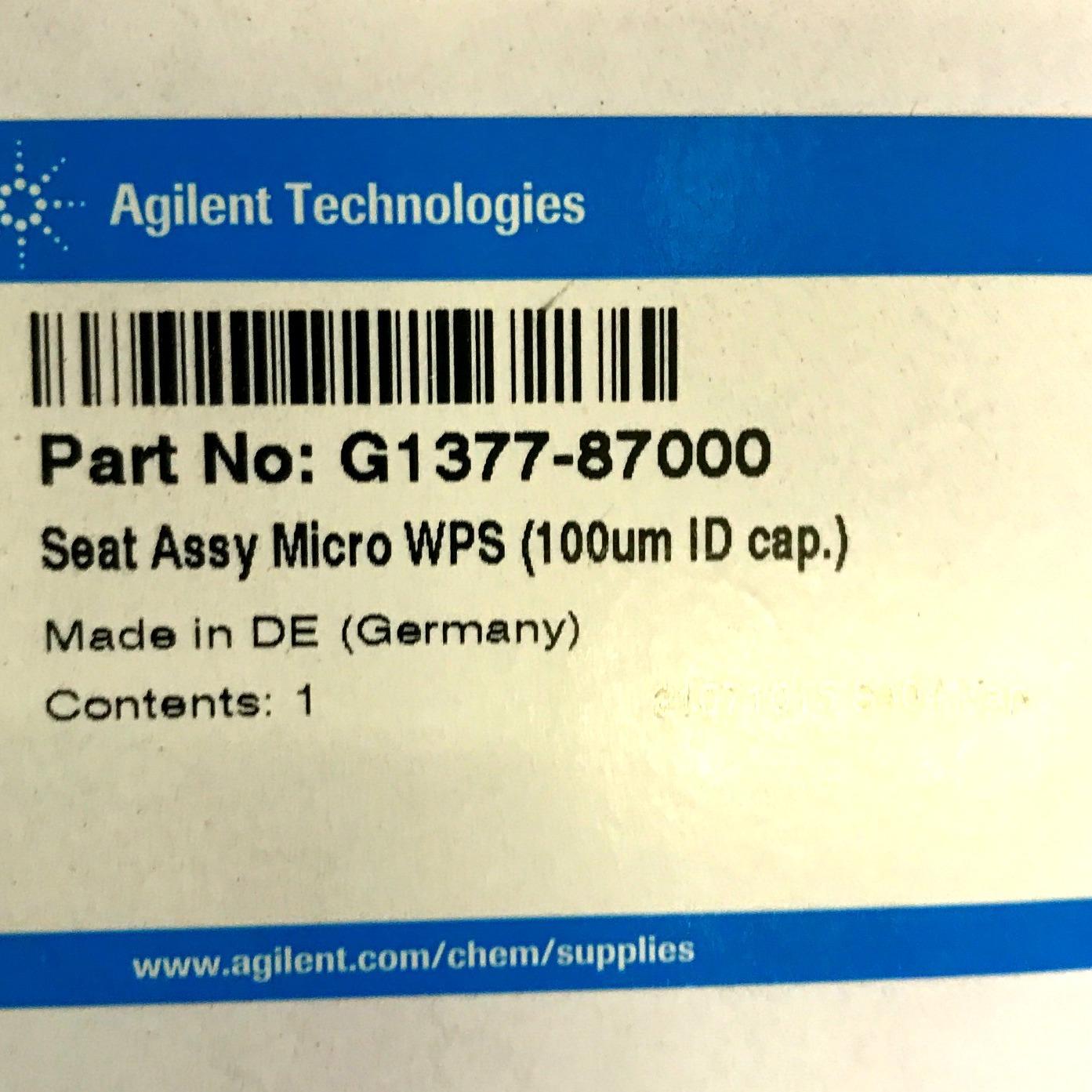Agilent Technologies G1377-87000 Needles and Needle Seats Image
