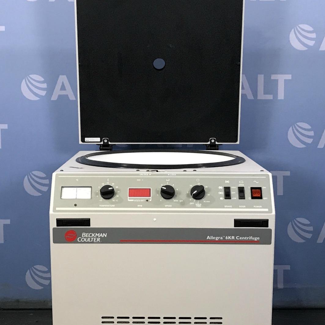 Beckman Coulter Allegra 6KR Centrifuge Image