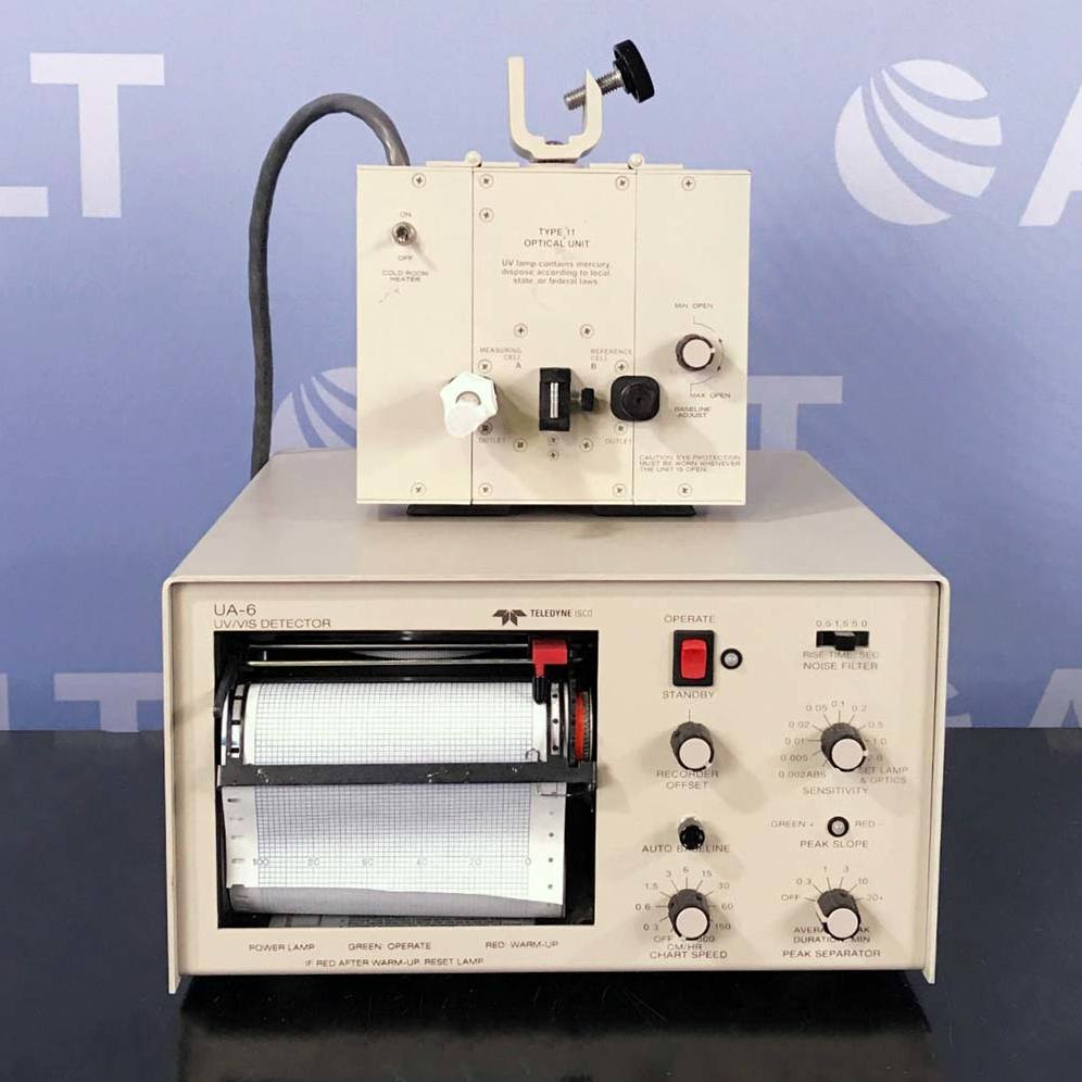 UA-6 UV/VIS Detector With Type 11 Optical Unit Name