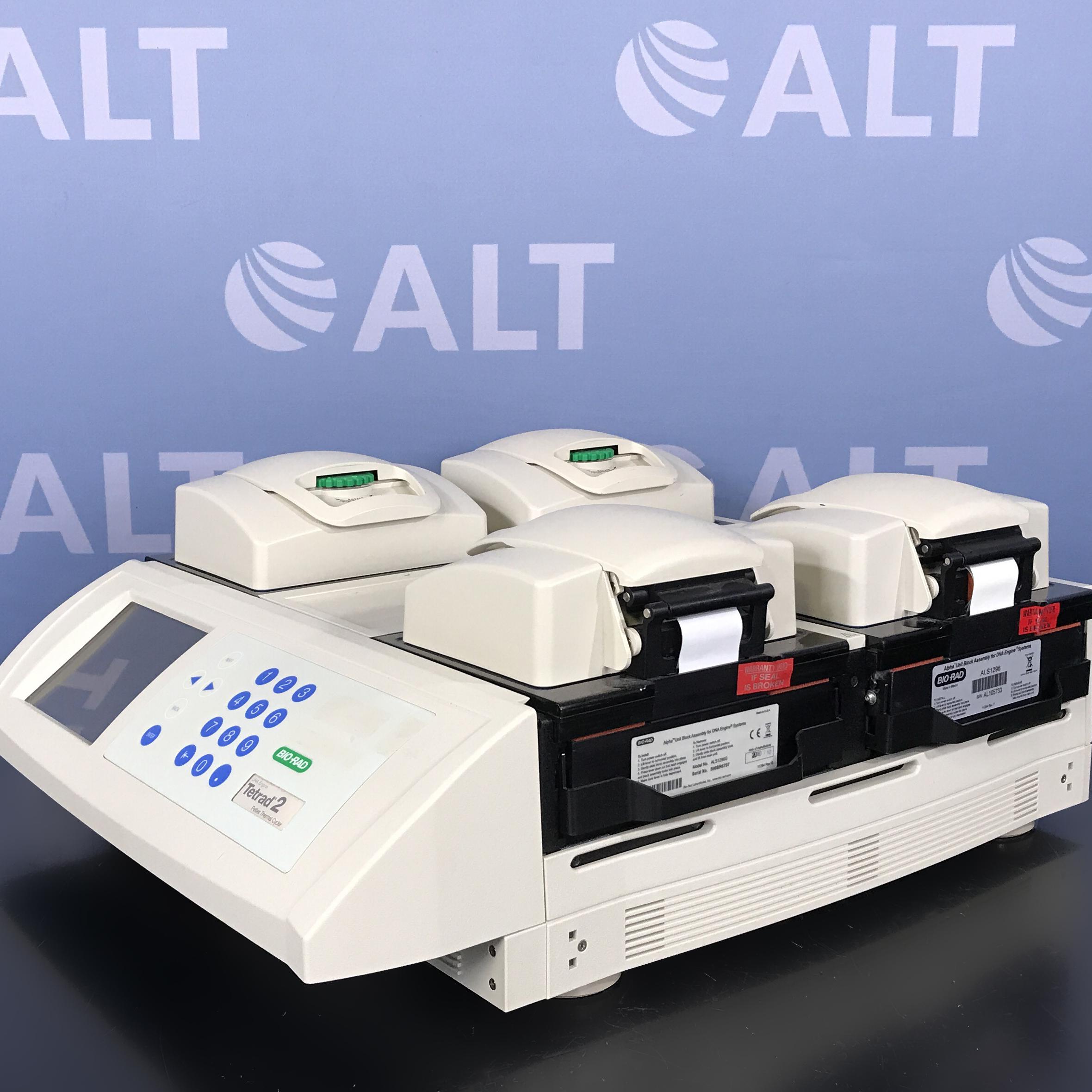 Bio-Rad DNA Engine Tetrad 2 Peltier Thermal Cycler Model PTC-0240 Image