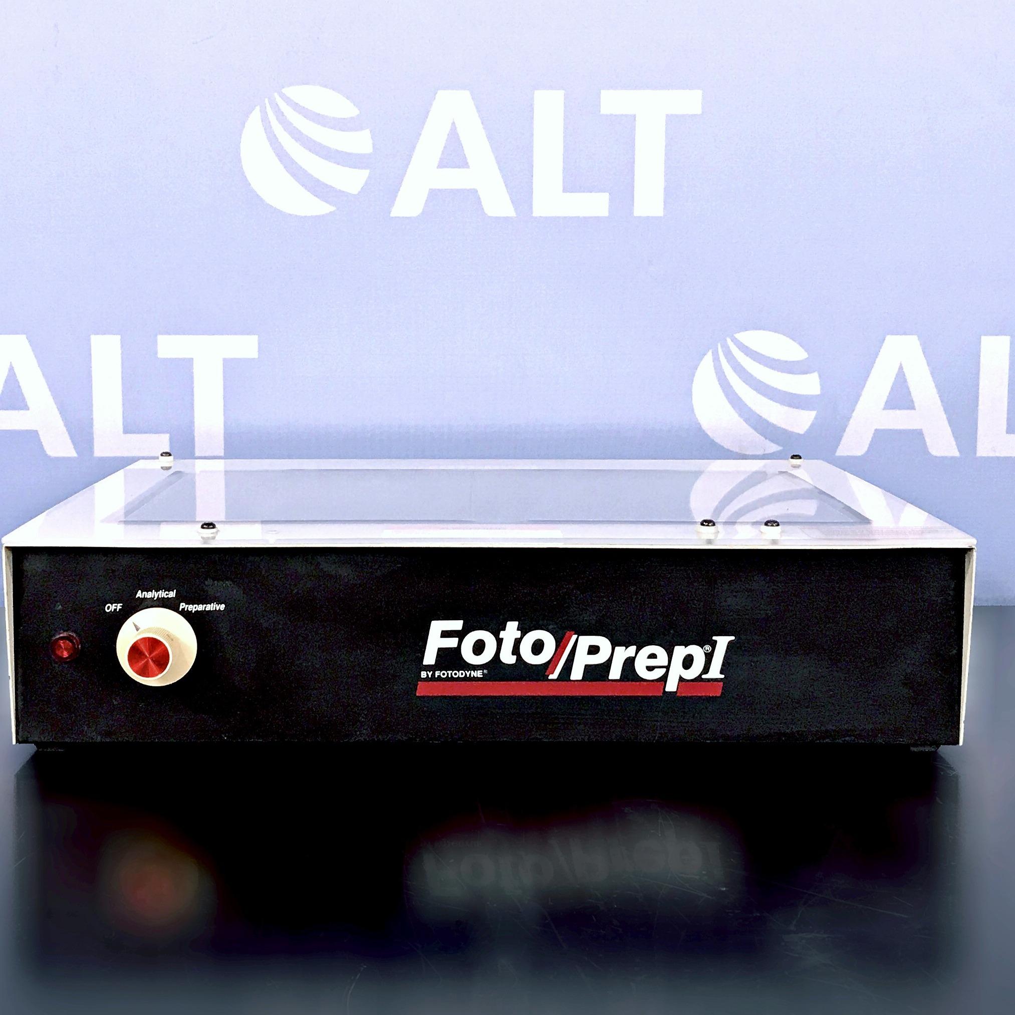 Fotodyne Foto/Prep I UV Transilluminator Image