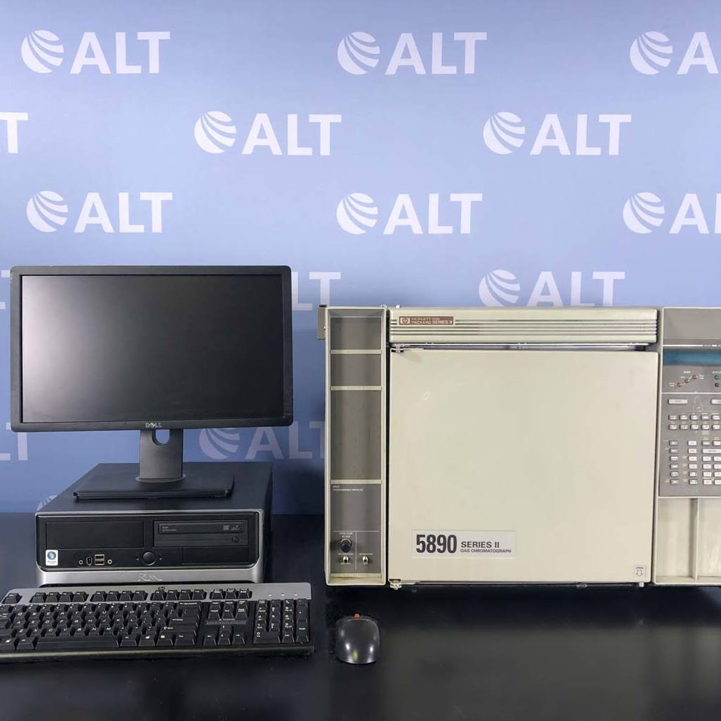 Hewlett Packard 5890 Series II Gas Chromatograph System Image