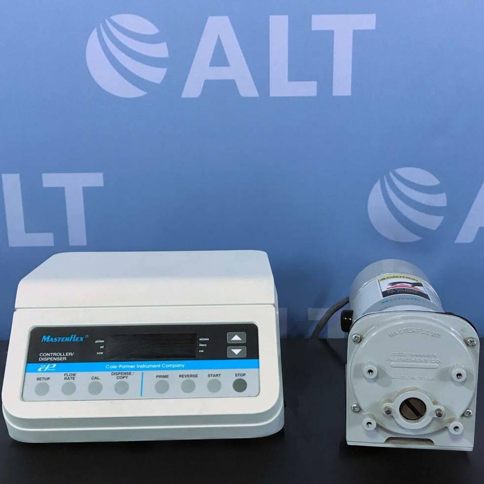 Masterflex L/S Controller/ Dispenser Pump System w/ Controller & Pump Name