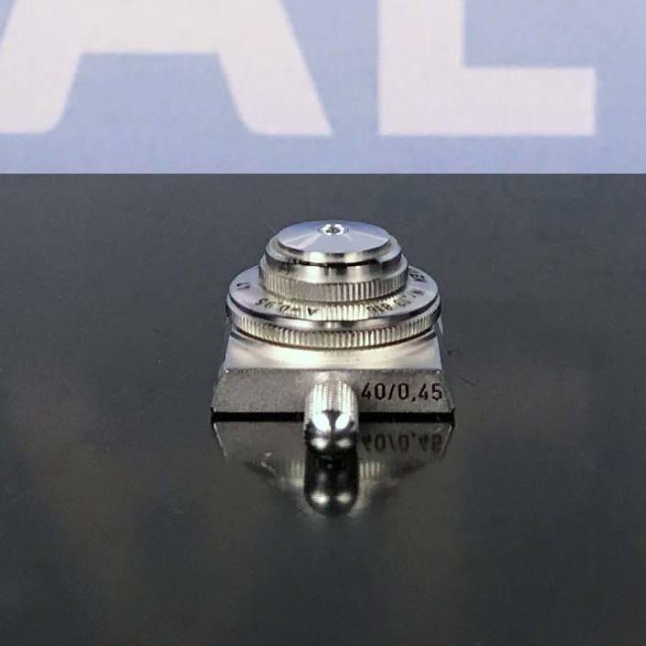 C.Reichert Wien Microscope Objective, 40/0.45 250/0.17 A=0.95 47 Image