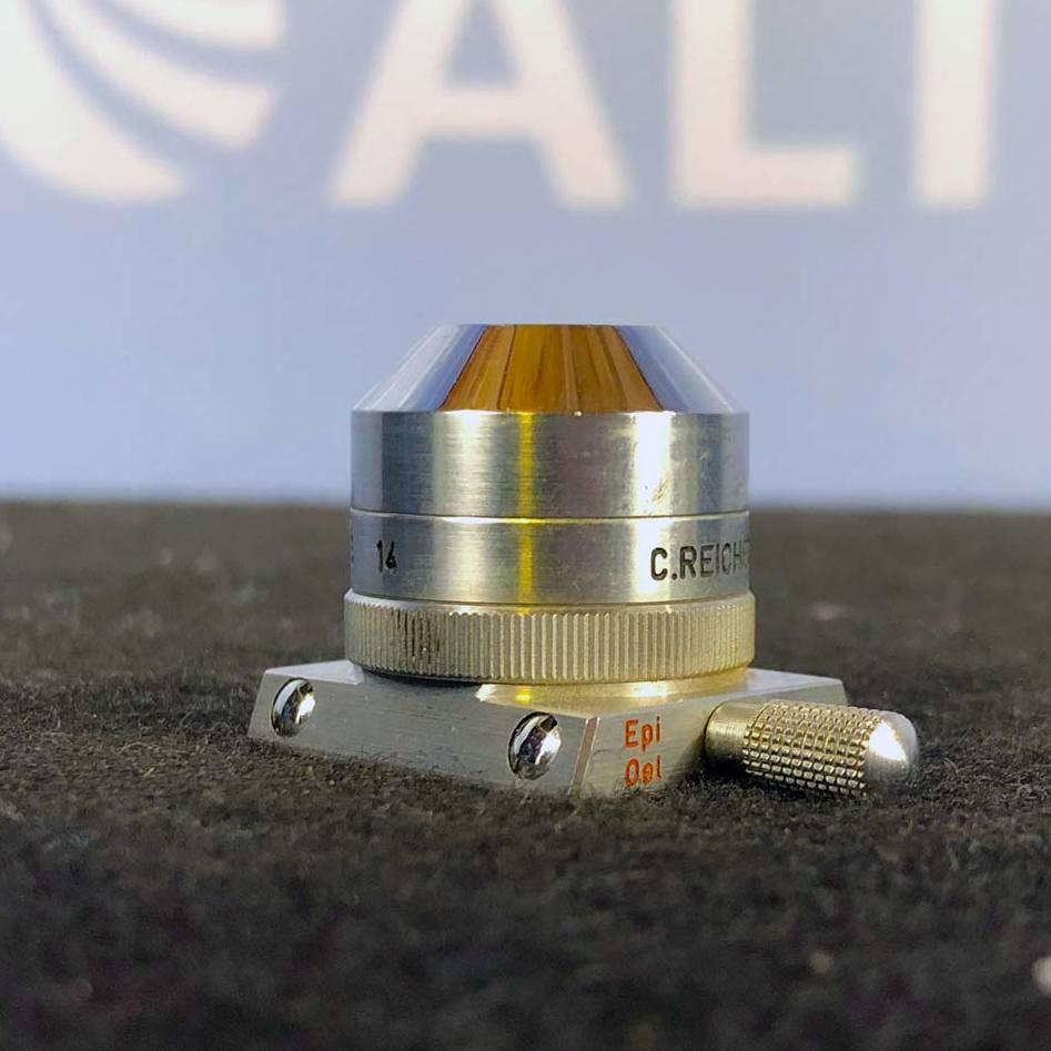 C.Reichert Wien Microscope Objective, Epi Oel 32/0.55 250/0 A-0.55 14 Image