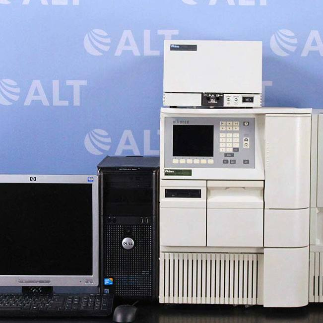 Waters 2795 Alliance HT Separations Module with Column Oven and Computer Image