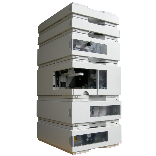 Agilent Factory Refurbished 1100 Series HPLC System with G1311A, G1315A, G1329A, G1330B, G1316A & G1322A Image