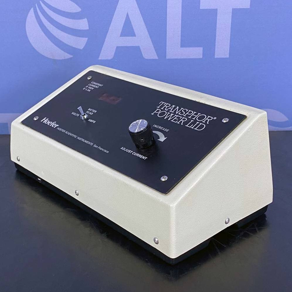 Hoefer Scientific TE50X Transphor Power Lid Model  Image
