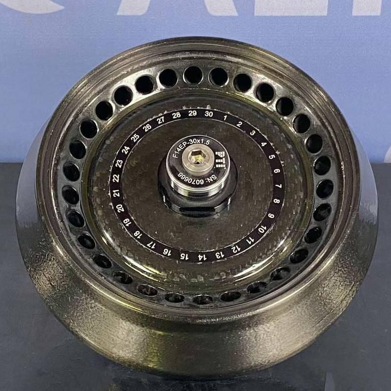 Thermo Scientific Fiberlite F14EP-30x1.5 mL Fixed Angle Carbon Fiber Rotor Image
