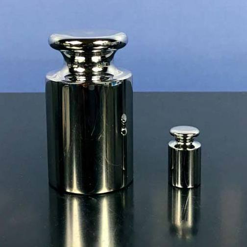 Mettler Toledo CarePac M ASTM 1000g/50g Class 1 Balance Testing Kit with 100g 3rd Weight Image