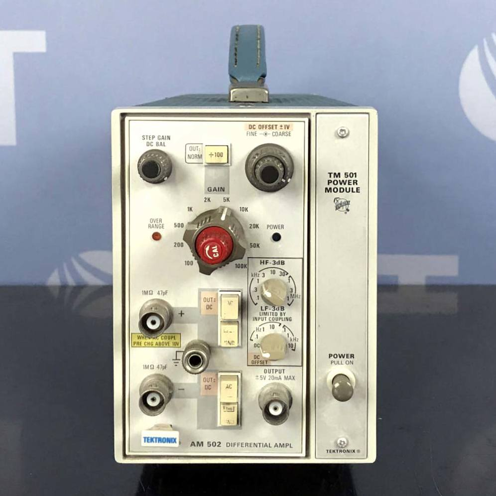 Tektronix TM501 Power Module With AM502 Differential Amplifier Image