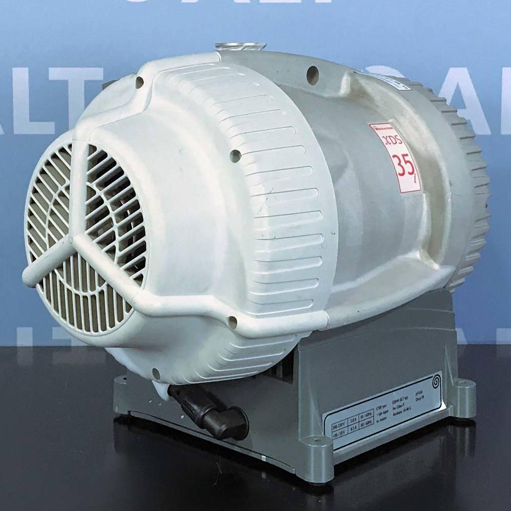 XDS35i Dry Vacuum Pump Name