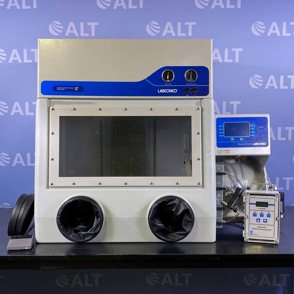 Precise Controlled Atmosphere Glove Box with Automatic Pressure Controller Name
