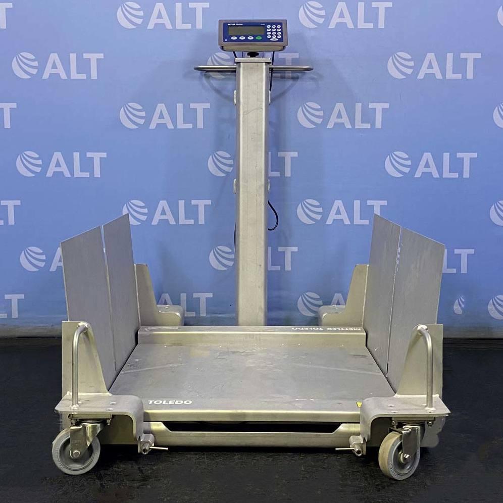 Mettler Toledo Deckmate Stainless Steel Floor Scale, Model 2888 Image