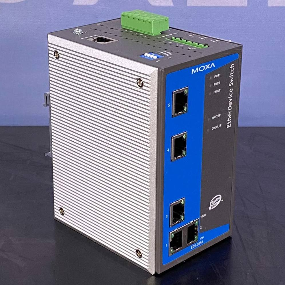 Moxa EtherDevice Switch, Model EDS-505A Image