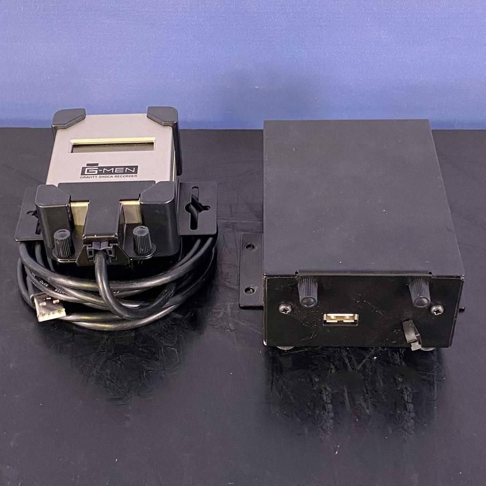 SRIC Corporation G-MEN Gravity Shock Recorder, Model DR20 Image