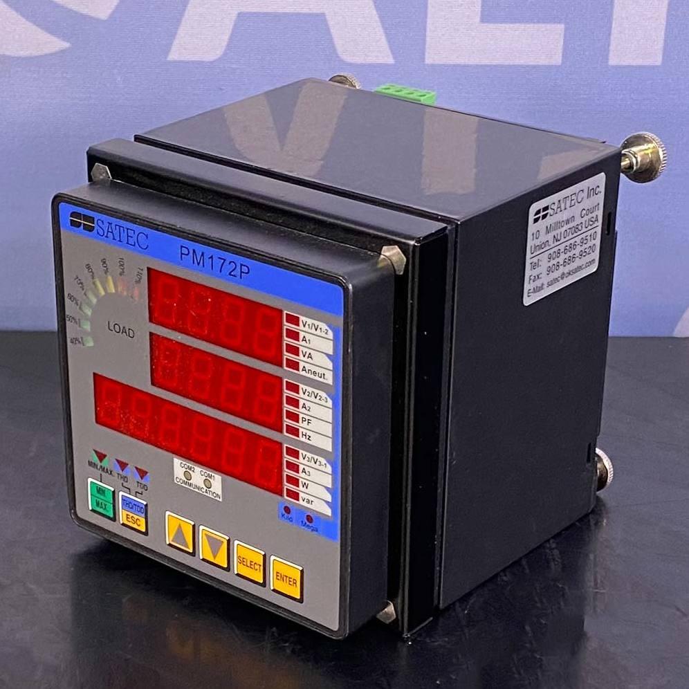 Satec PM172P Three Phase A/C Powermeter Image