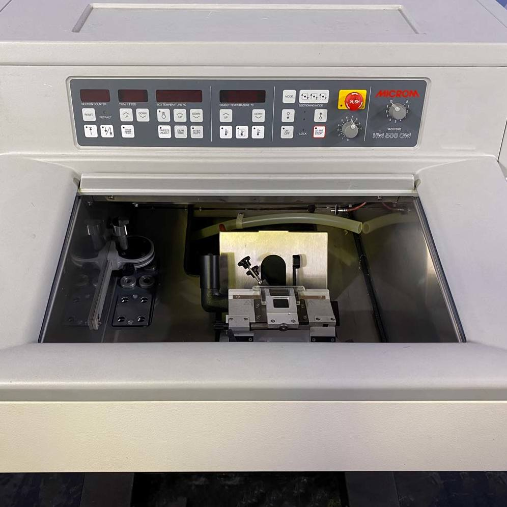 Microm HM 500 OM Microtome Image