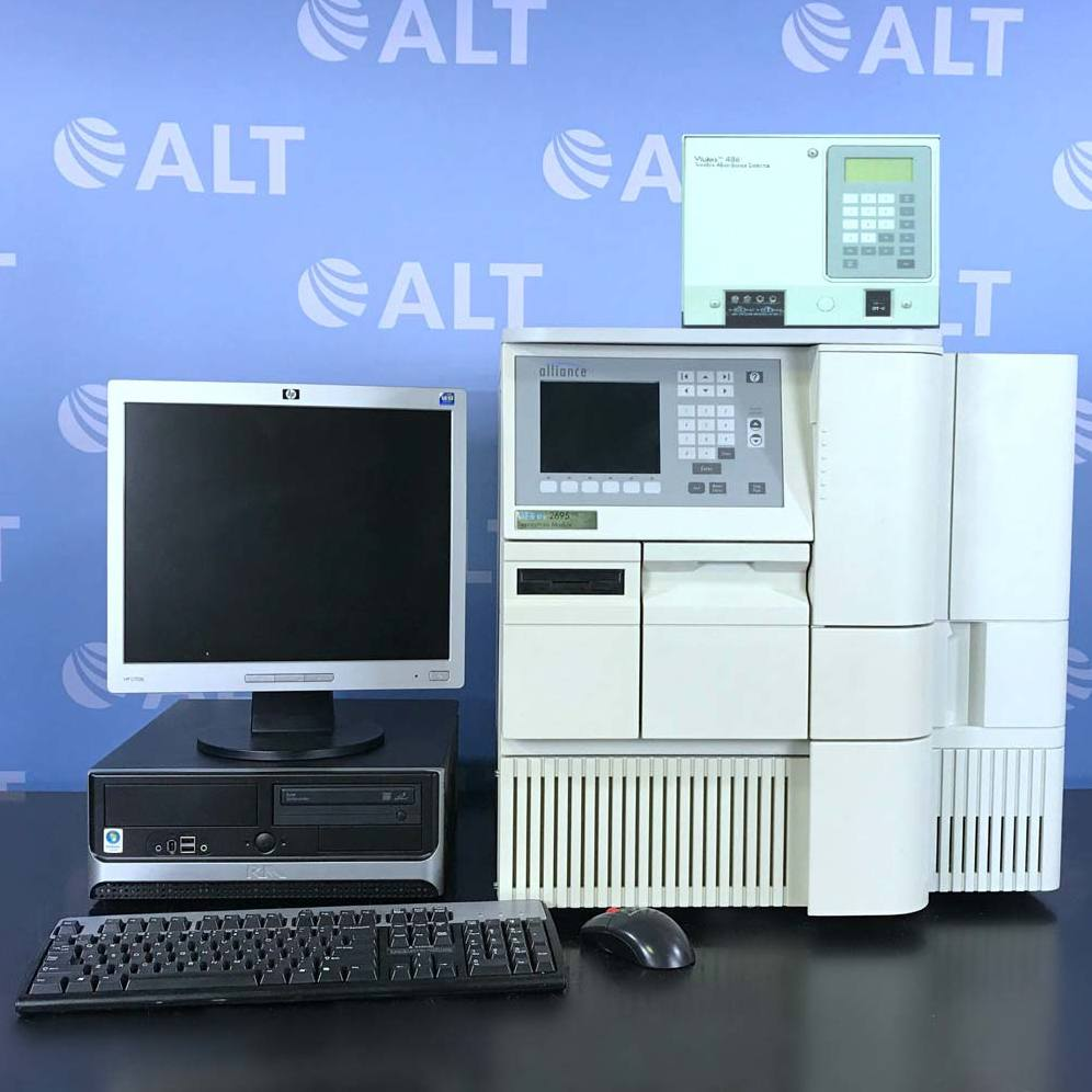 Waters Alliance 2695 HPLC with 486 Tunable Absorbance Detector Image