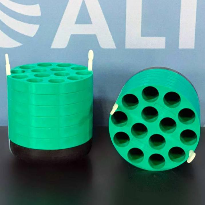 349950 Tube Slot Bucket Adapter, 14 x 15 mL (Pair) Name
