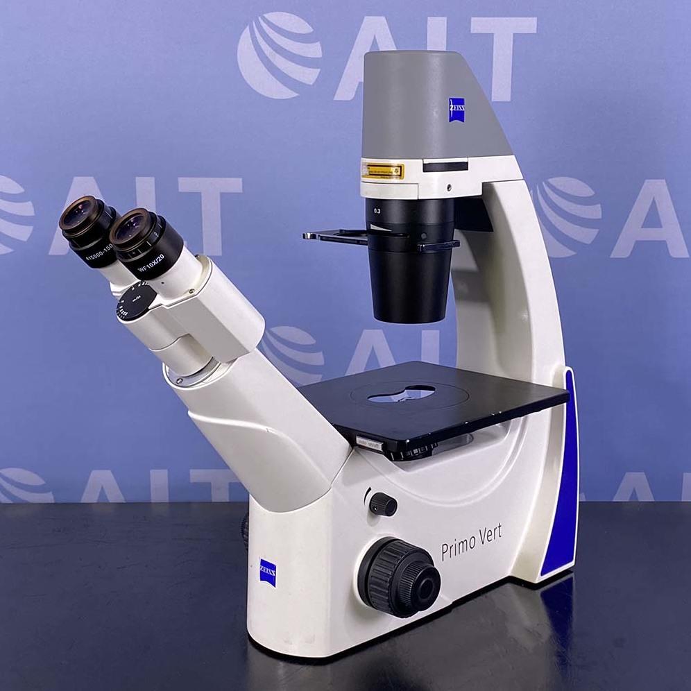 Carl Zeiss Primovert Microscope Image