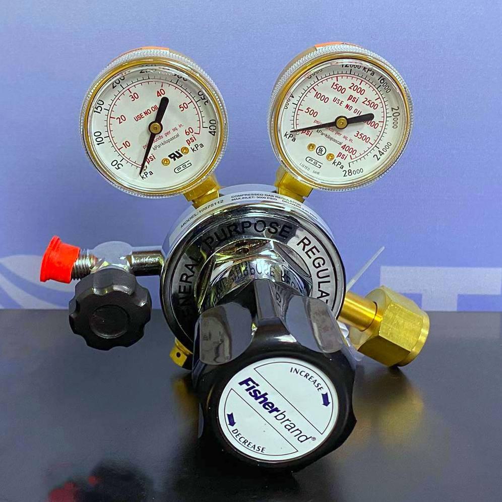 10-575-112 Gas Regulator, Multistage, Brass Name