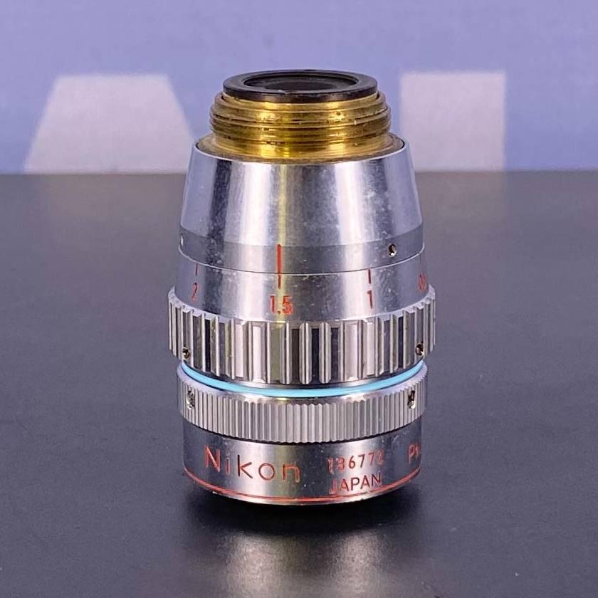 Nikon Ph3 40 DL 0.55 LWD Microscope Objective, 160/0-2 Image