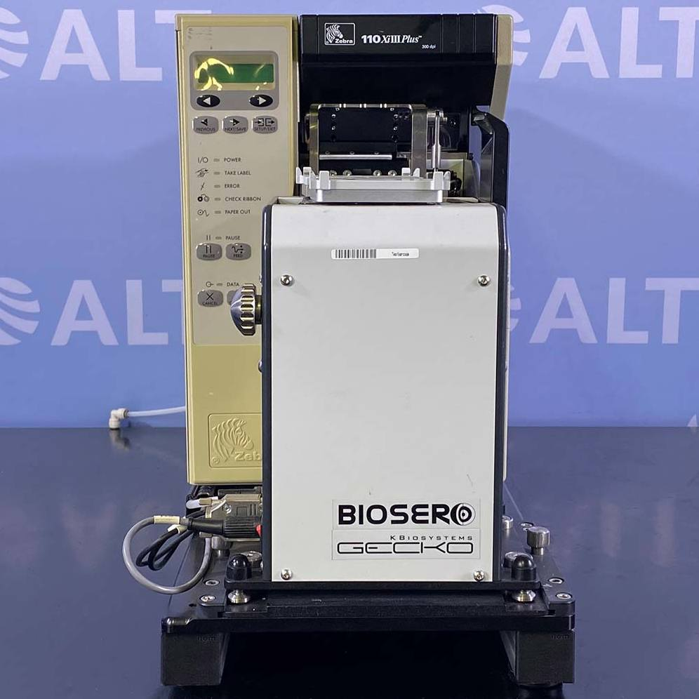 kbiosystems Scorpion Model 24 Plate Handler with eGecko Barcode Application System Image