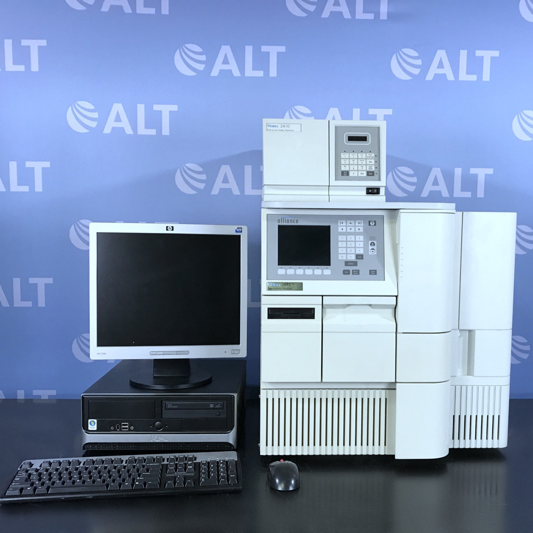 Waters Alliance 2695 HPLC with 2410 Refractive Index Detector Image