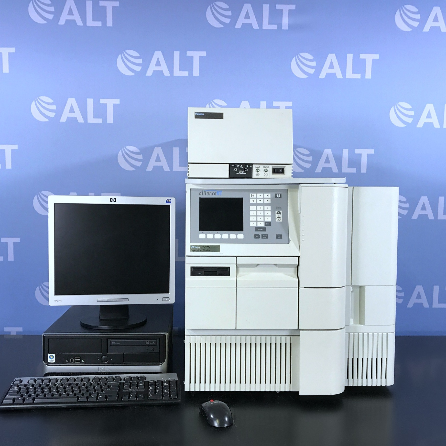 Waters Alliance 2795 HPLC with 2996 Photo Diode Array Detector Image