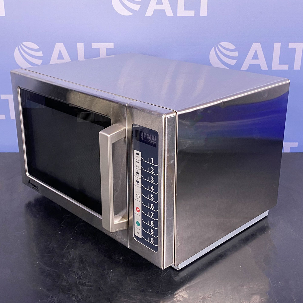 Amana 1000W Commercial Microwave Oven, Model RCS10TS Image