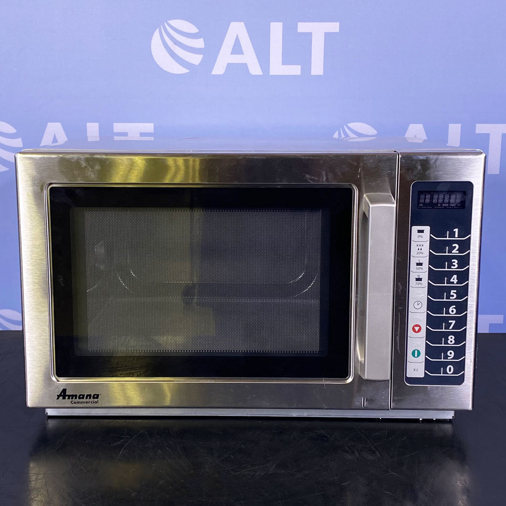 1000W Commercial Microwave Oven, Model RCS10TS Name