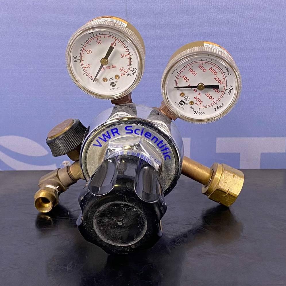 VWR Hydrogen Gas Regulator, Cat. No. 55850-225 Image