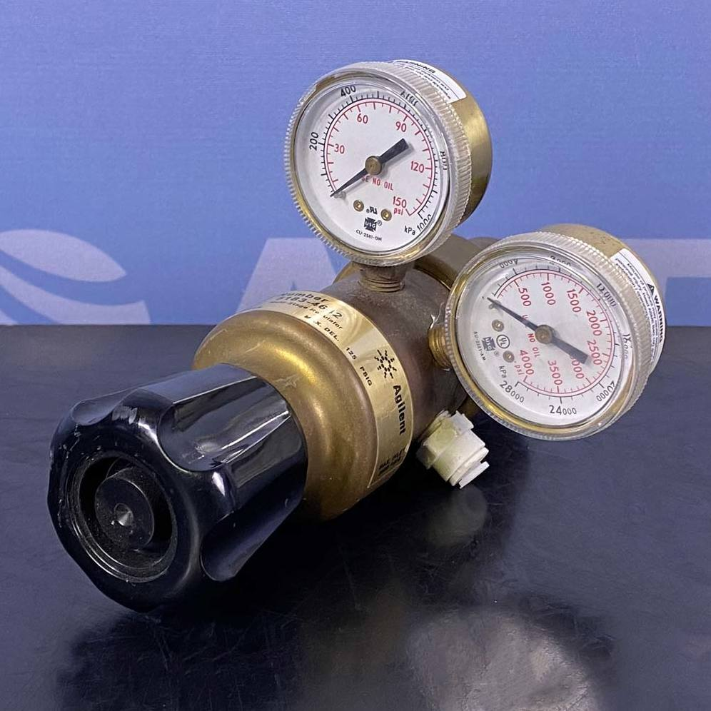 Agilent Multi-Stage Hydrogen Gas Regulator, P/N 5183-4642 Image