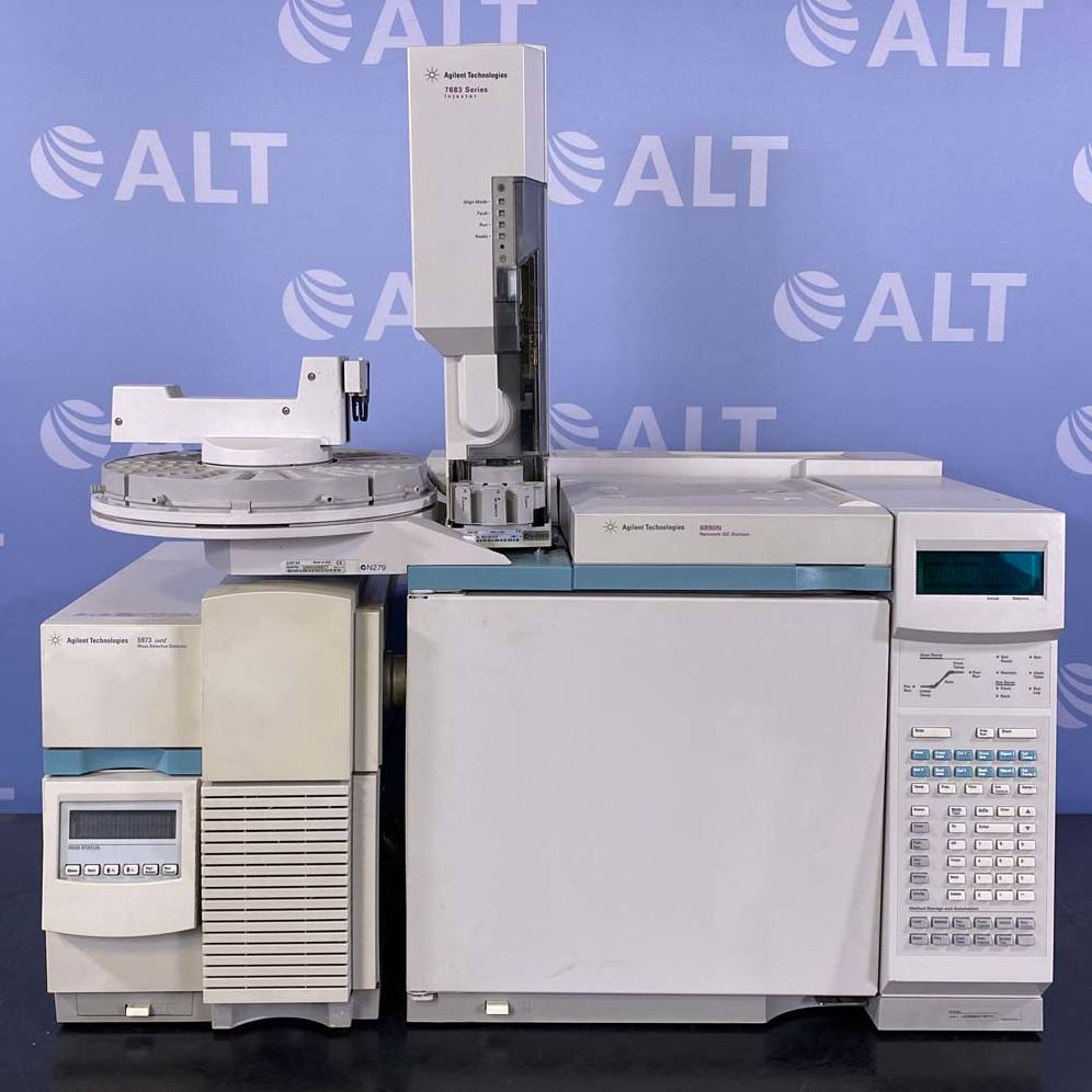 Agilent 6890 (G1530A) Network GC/MS System With 5973 (G2579A) Inert Mass Selective Detector Image