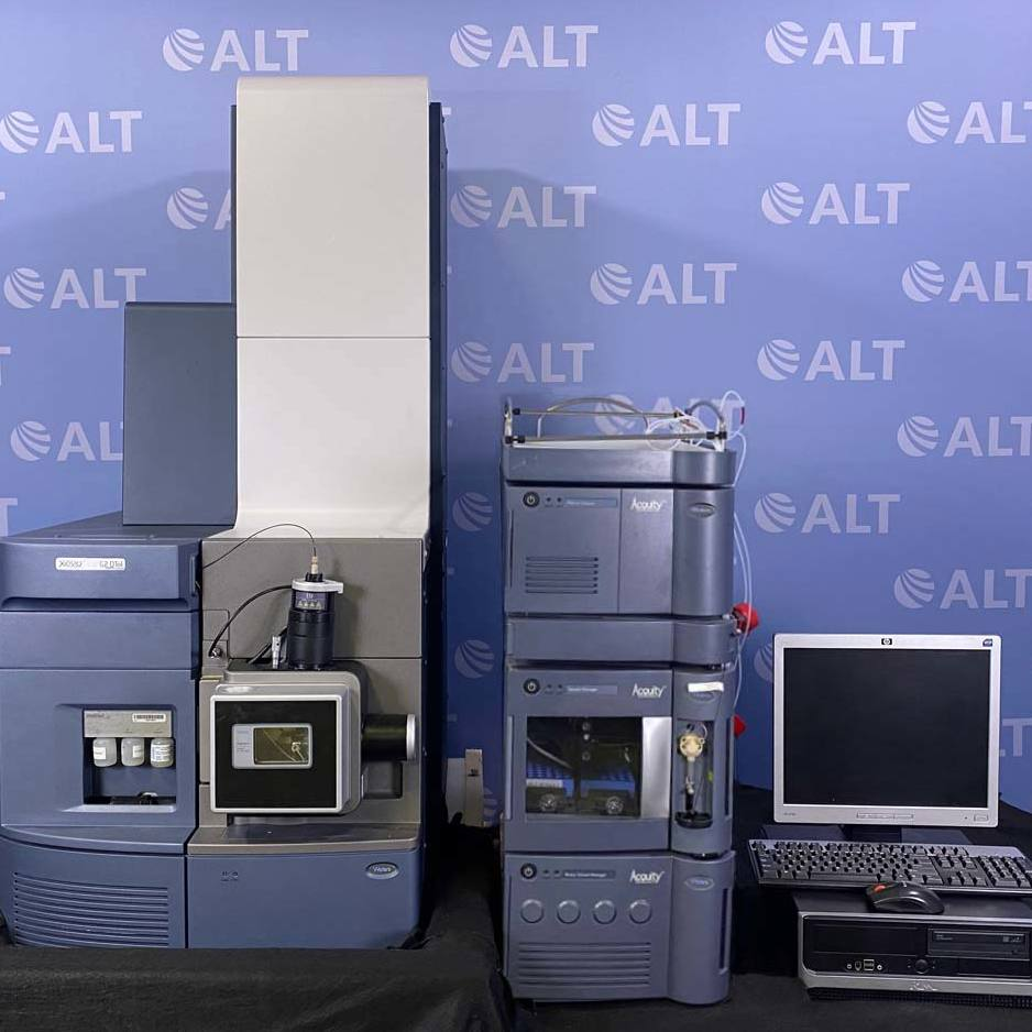 Xevo G2 QTof Quadrupole Time-of-Flight Mass Spectrometer With Acquity UPLC System Name