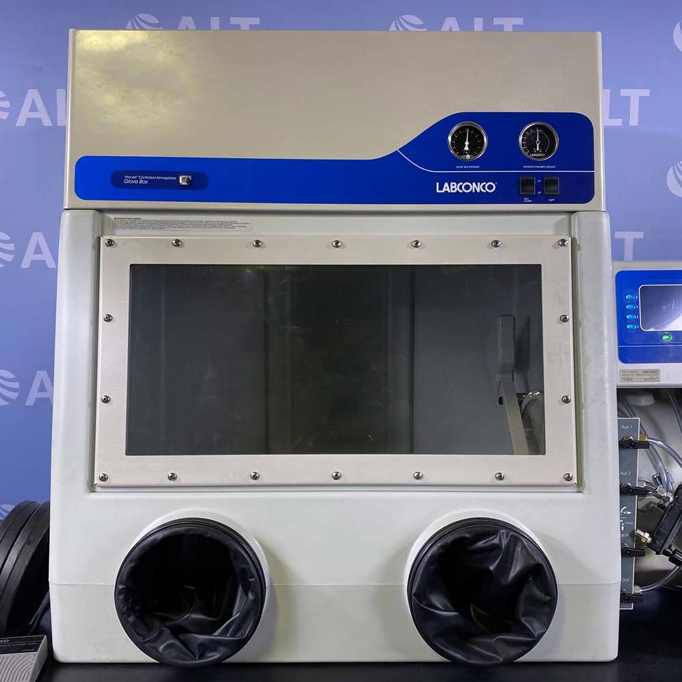 Labconco Precise Controlled Atmosphere Glove Box with Automatic Pressure Controller Image