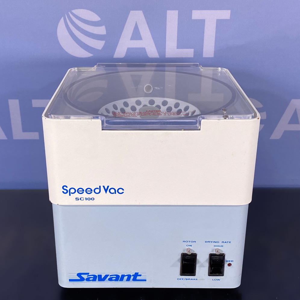 SC100 SpeedVac Concentrator Name